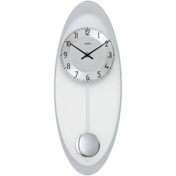 Casa Relojes Ams 7416, Quartz, Silver, Analogue, Modern Plata