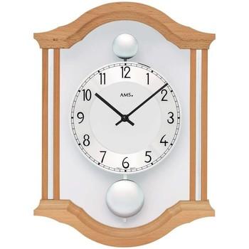 Casa Relojes Ams 7447/18, Quartz, Silver, Analogue, Classic Plata