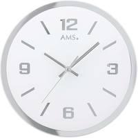 Casa Relojes Ams 9322, Quartz, White, Analogue, Modern Blanco