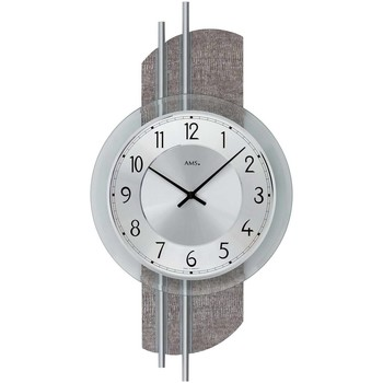 Casa Relojes Ams 9412, Quartz, Silver, Analogue, Modern Plata