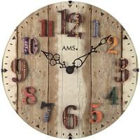 Casa Relojes Ams 9423, Quartz, Brown, Analogue, Modern Marrón