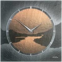 Casa Relojes Ams 9513, Quartz, Grey, Analogue, Modern Gris