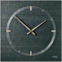 Casa Relojes Ams 9516, Quartz, Black, Analogue, Modern Negro