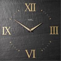 Casa Relojes Ams 9517, Quartz, Black, Analogue, Modern Negro