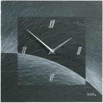 Casa Relojes Ams 9518, Quartz, Black, Analogue, Modern Negro