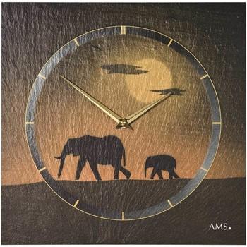 Casa Relojes Ams 9523, Quartz, Brown, Analogue, Modern Marrón