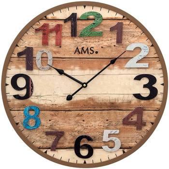 Casa Relojes Ams 9539, Quartz, Brown, Analogue, Modern Marrón
