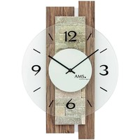 Casa Relojes Ams 9543, Quartz, White, Analogue, Modern Blanco
