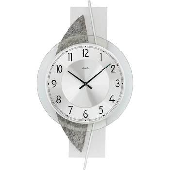 Casa Relojes Ams 9552, Quartz, Silver, Analogue, Modern Plata