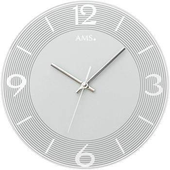 Casa Relojes Ams 9571, Quartz, Silver, Analogue, Modern Plata