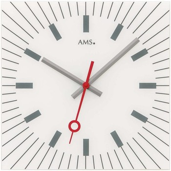 Casa Relojes Ams 9576, Quartz, White, Analogue, Modern Blanco