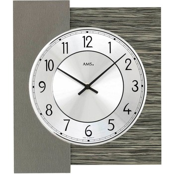Casa Relojes Ams 9584, Quartz, Silver, Analogue, Modern Plata