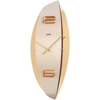 Casa Relojes Ams 9601, Quartz, Gold, Analogue, Modern Oro