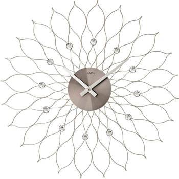 Casa Relojes Ams 9608, Quartz, Silver, Analogue, Modern Plata