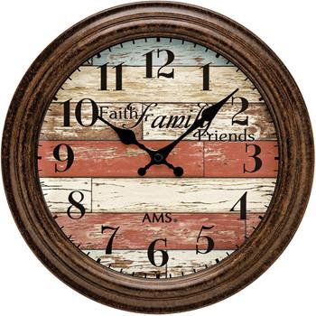 Casa Relojes Ams 9619, Quartz, Brown, Analogue, Modern Marrón