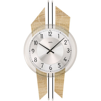 Casa Relojes Ams 9625, Quartz, Silver, Analogue, Modern Plata
