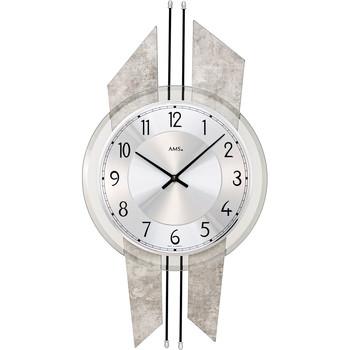 Casa Relojes Ams 9626, Quartz, Silver, Analogue, Modern Plata