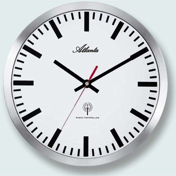 Casa Relojes Atlanta 4371/B, Quartz, White, Analogue, Modern Blanco