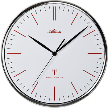 Casa Relojes Atlanta 4494, Quartz, White, Analogue, Modern Blanco