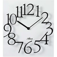 Casa Relojes Atlanta 4511/0, Quartz, White, Analogue, Modern Blanco