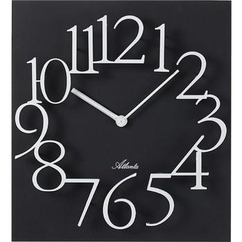 Casa Relojes Atlanta 4511/7, Quartz, Black, Analogue, Modern Negro