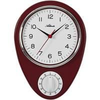 Casa Relojes Atlanta 6114/1, Quartz, White, Analogue, Classic Blanco
