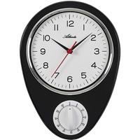 Casa Relojes Atlanta 6114/7, Quartz, White, Analogue, Classic Blanco