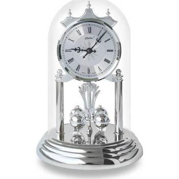 Casa Relojes Haller 821-161_001, Quartz, Silver, Analogue, Classic Plata