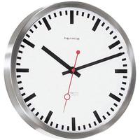 Casa Relojes Hermle 30471-000870, Quartz, White, Analogue, Modern Blanco