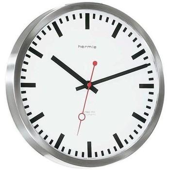 Casa Relojes Hermle 30471-002100, Quartz, White, Analogue, Modern Blanco
