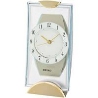 Casa Relojes Seiko QXG146G, Quartz, White, Analogue, Modern Blanco