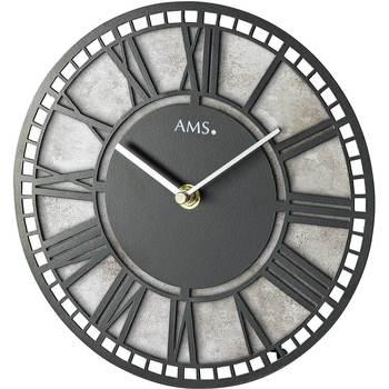 Casa Relojes Ams 1233, Quartz, Black, Analogue, Modern Negro