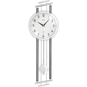 Casa Relojes Ams 5314, Quartz, Silver, Analogue, Modern Plata