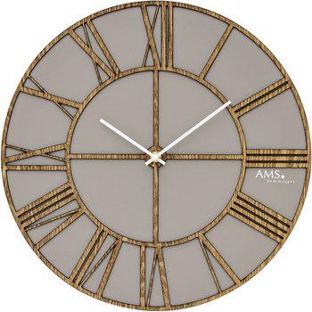 Casa Relojes Ams 9635, Quartz, Grey, Analogue, Modern Gris