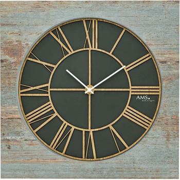 Casa Relojes Ams 9640, Quartz, Green, Analogue, Modern Verde