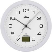 Casa Relojes Atlanta 4504/0, Quartz, White, Analogue, Modern Blanco