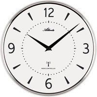 Casa Relojes Atlanta 4538/19, Quartz, White, Analogue, Modern Blanco