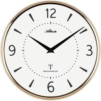 Casa Relojes Atlanta 4538/9, Quartz, White, Analogue, Modern Blanco