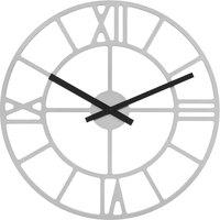Casa Relojes Hermle 30915-X52100, Quartz, White, Analogue, Modern Blanco