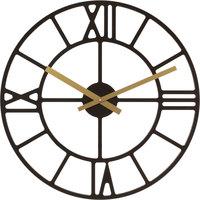 Casa Relojes Hermle 30916-032100, Quartz, Black, Analogue, Modern Negro