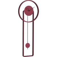 Casa Relojes Hermle 61024-362200, Quartz, Red, Analogue, Modern Rojo