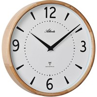 Casa Relojes Atlanta 4535/30, Quartz, White, Analogue, Modern Blanco