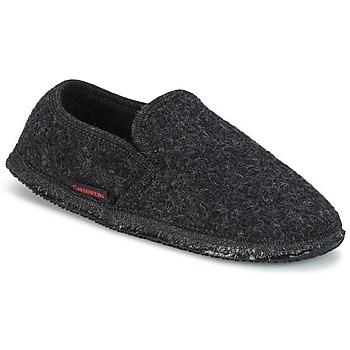 Zapatos Hombre Pantuflas Giesswein NIEDERTHAL Negro