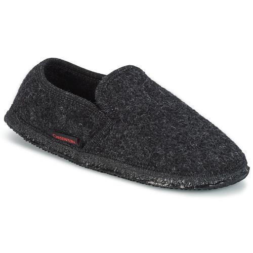 Zapatos especiales para hombres y mujeres Giesswein NIEDERTHAL Negro