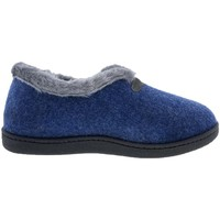 Zapatos Mujer Pantuflas Plumaflex By Roal Zapatillas De Casa Roal 12246 Marino Azul
