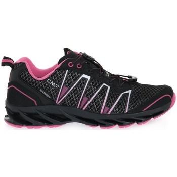 Zapatos Niños Senderismo Cmp Altak WP Negros, Rosa