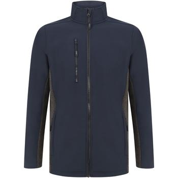 textil Chaquetas Henbury HB835 Marino/Carbón