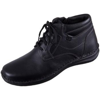 Zapatos Hombre Botas de caña baja Josef Seibel Anvers Negros