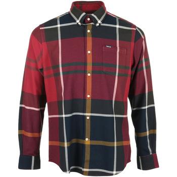 textil Hombre Camisas manga larga Barbour Dunoon Tailored Shirt Rojo