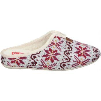 Zapatos Mujer Pantuflas Norteñas Z. DE CASA  36-191 SEÑORA BURDEOS Rouge